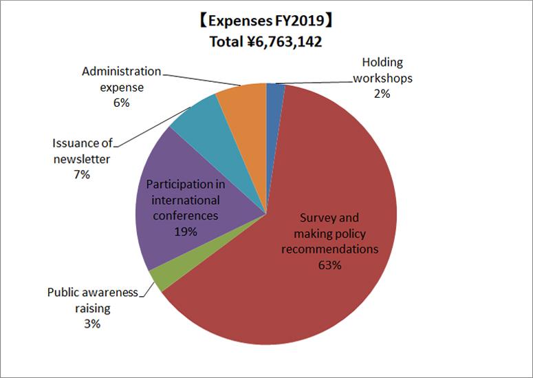 Expenses 2019