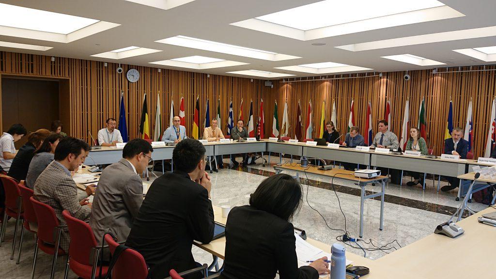 EU代表部にて意見交換会